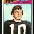 PITTSBURGH STEELERS ROY GERELA 1977 TOPPS # 421 G/VG