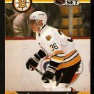 BOSTON BRUINS BRIAN PROPP 1990 PRO SET # 14