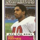 NEW ENGLAND PATRIOTS MIKE HAYNES 1983 TOPPS # 332