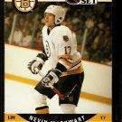 BOSTON BRUINS NEVIN MARKWART 1990 PRO SET # 408