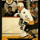 BOSTON BRUINS KEN HODGE JR. ROOKIE CARD RC 1990 PRO SET # 587