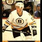 BOSTON BRUINS WES WALZ ROOKIE CARD RC 1990 PRO SET # 589