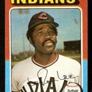 CLEVELAND INDIANS LERON LEE 1975 TOPPS # 506 VG