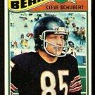 CHICAGO BEARS STEVE SCHUBERT 1977 TOPPS # 502 good