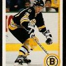 BOSTON BRUINS JOHN CARTER ROOKIE CARD RC 1990 UPPER DECK # 211