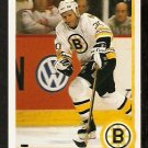 BOSTON BRUINS CHRIS NILAN 1990 UPPER DECK # 442