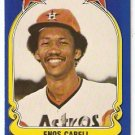 Houston Astros Enos Cabell 1981 Fleer Star Sticker Baseball Card # 36