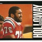 NEW ENGLAND PATRIOTS BRIAN HOLLOWAY 1985 TOPPS # 327
