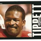 New England Patriots Andre Tippett 1985 Topps Football Card # 334 ex/nm