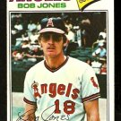 CALIFORNIA ANGELS BOB JONES 1977 TOPPS # 16 VG