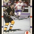 Boston Bruins Dave Poulin 1990 Score Hockey Card # 217