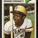 PITTSBURGH PIRATES RENNIE STENNETT 1977 TOPPS # 35 VG/EX
