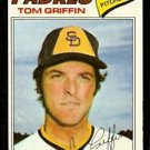 SAN DIEGO PADRES TOM GRIFFIN 1977 TOPPS # 39 VG