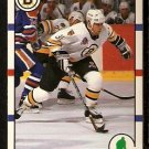 BOSTON BRUINS JOHN CARTER ROOKIE CARD RC 1990 SCORE # 283