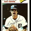 DETROIT TIGERS RAY BARE 1977 TOPPS # 43 VG/EX