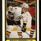 BOSTON BRUINS BRIAN PROPP 1990 OPC O PEE CHEE # 8