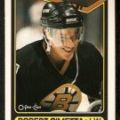 BOSTON BRUINS ROBERT CIMETTA ROOKIE CARD RC 1990 OPC O PEE CHEE # 288