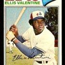 MONTREAL EXPOS ELLIS VALENTINE 1977 TOPPS # 52 EX/EM