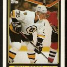 Boston Bruins Brian Propp 1990 Topps Hockey Card # 8