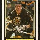 Boston Bruins Andy Brickley 1990 Topps Hockey Card # 88