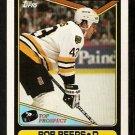 Boston Bruins Bob Beers RC Rookie Card 1990 Topps Hockey Card # 113