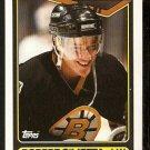 Boston Bruins Robert Cimetta RC Rookie Card 1990 Topps Hockey Card # 288