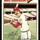 St Louis Cardinals Mike Anderson 1977 Topps Baseball Card 72 good