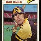 San Diego Padres Bob Davis 1977 Topps Baseball Card 78