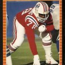 New England Patriots Bruce Armstrong RC Rookie Card 1989 Pro Set Football Card 244