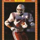 New England Patriots Reggie Dupard RC Rookie Card 1989 Pro Set Football Card 246