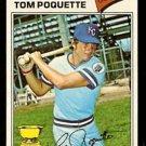 Kansas City Royals Tom Poquette 1977 Topps Baseball Card 93 vg