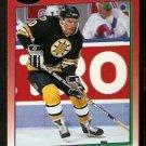 Boston Bruins Ken Hodge 1991 Score Hockey Card 113