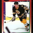Boston Bruins Chris Nilan 1991 Score Hockey Card 197