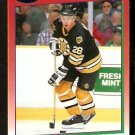 Boston Bruins Garry Galley 1991 Score Hockey Card 71