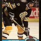 Boston Bruins Jim Wiemer 1991 Topps Stadium Club Hockey Card 16