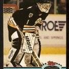 Boston Bruins Rejean Lemelin 1991 Topps Stadium Club Hockey Card 23