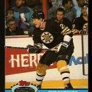 Boston Bruins Bob Sweeney 1991 Topps Stadium Club Hockey Card 75