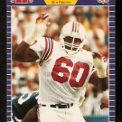 New England Patriots Garin Veris 1989 Pro Set Football Card 259