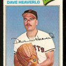 San Francisco Giants Dave Heaverlo 1977 Topps Baseball Card 97 vg
