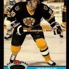 Boston Bruins Dave Poulin 1991 Topps Stadium Club Hockey Card 253