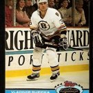 Boston Bruins Vladimir Ruzicka 1991 Topps Stadium Club Hockey Card 383