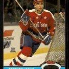 Boston Bruins Washington Capitals Stephen Leach 1991 Topps Stadium Club Hockey Card 226