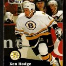 Boston Bruins Ken Hodge 1991 Pro Set Hockey Card 3
