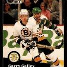 Boston Bruins Garry Galley 1991 Pro Set Hockey Card 7