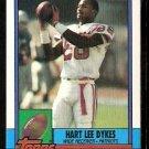 New England Patriots Hart Lee Dykes 1990 Topps Football Card 417