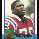 New England Patriots Bruce Armstrong 1990 Topps Football Card 419