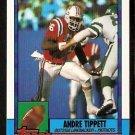 New England Patriots Andre Tippett 1990 Topps Football Card 421
