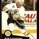 Boston Bruins Bob Carpenter 1991 Pro Set Hockey Card 349
