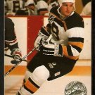 Boston Bruins Ken Hodge 1991 Pro Set Platinum Performer Hockey Card 6