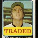 New York Yankees Jim Mason 1974 Topps Traded Baseball Card 618t vg
